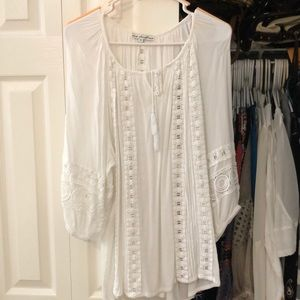 Tops - White summer shirt